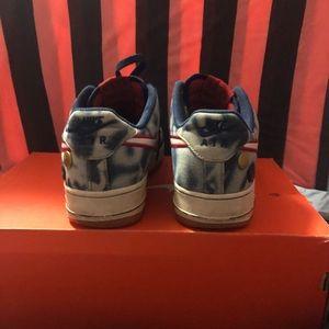 super popular 5b5c3 c8a30 Nike Shoes - Nike Air Force 1 low denim acid wash